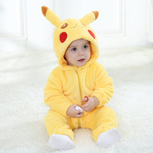 Baby Animal Costume Pikachu Bodysuit