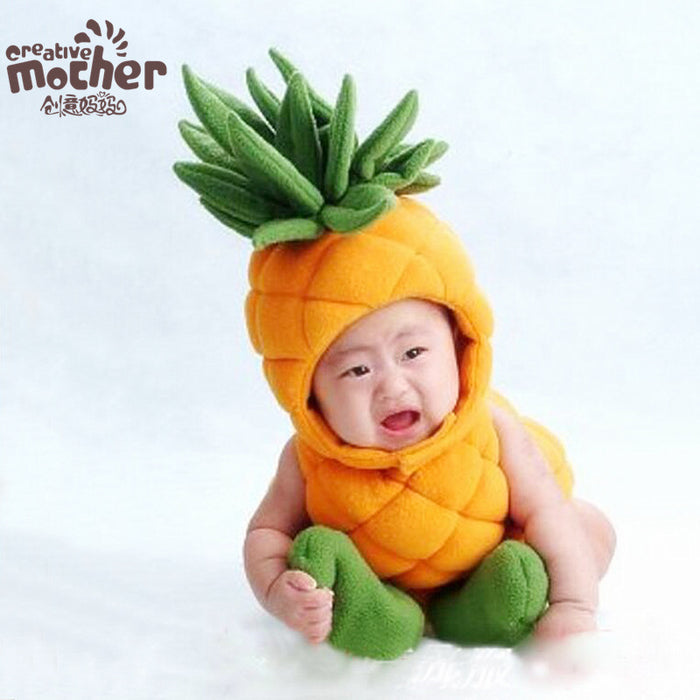 Children's fruit pineapple clothes Baby Photo Props