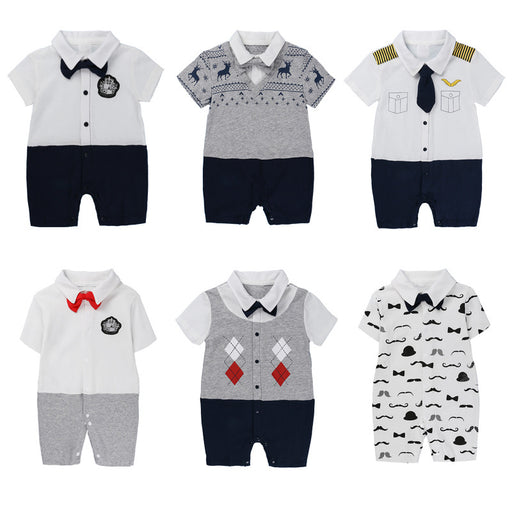 Men's Robe Gentleman Baby Jumpsuit