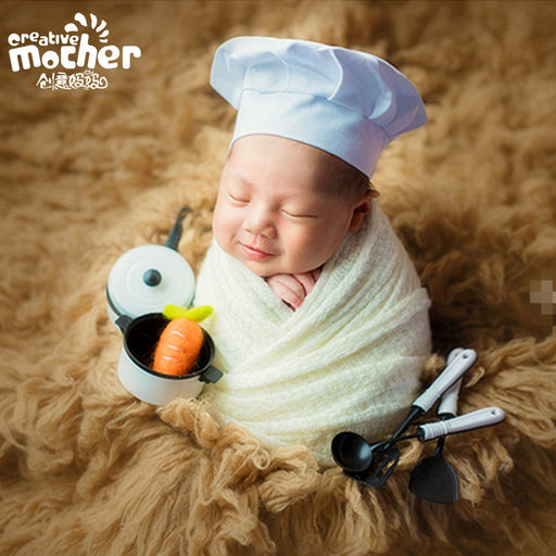 Baby Little Chef Set Baby Photo Props