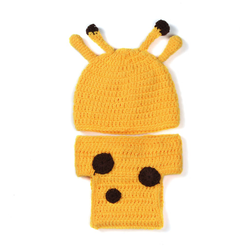 Hand-crocheted Knitting Newborn Fawn Photography Suit