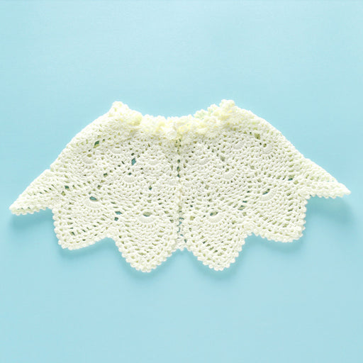 Hand-crocheted Knitting Newborn Hollow Out Shawl