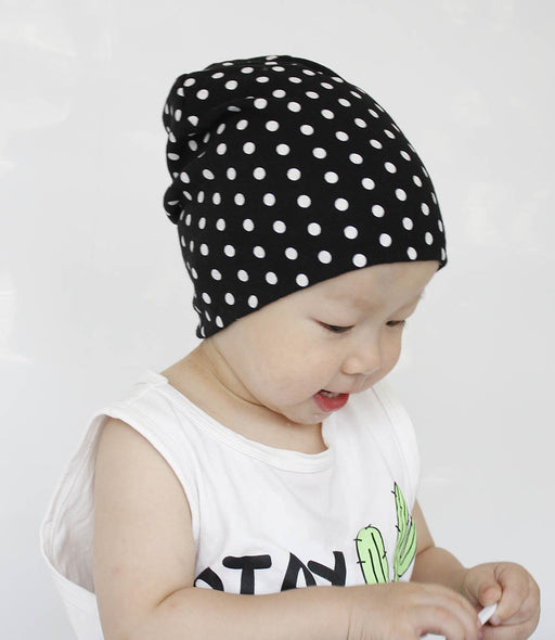 Infant Dot Knitted Cover Hat