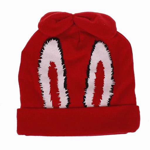 Baby Rabbit Ears Cotton Double Layer Thickened Knitted Hat