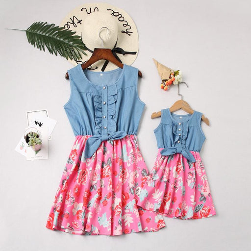 Mommy And Daughter Dresses - Cowboys spend