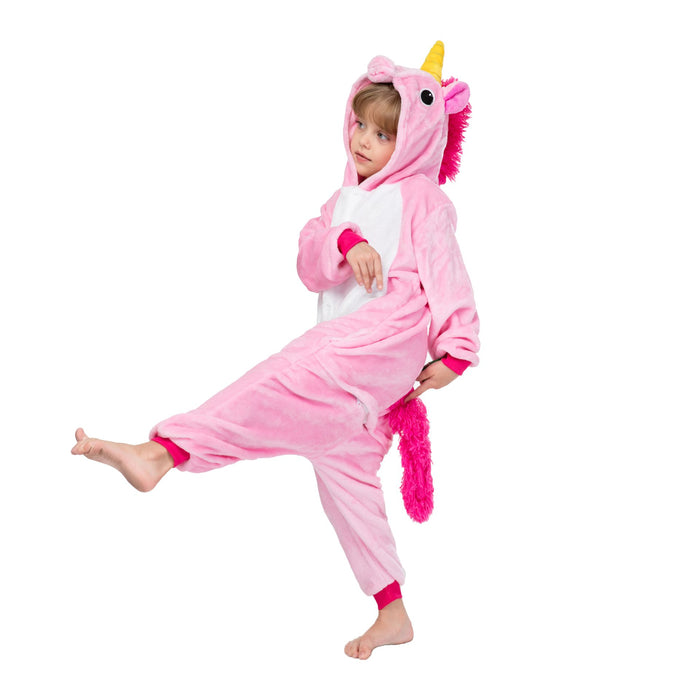 Funny Pink Tianma Unicorn  Hot Selling Kids Onesie