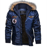 Winter Military Bomber Jacket Coat Men Air Force Army Tactical Jacket - QucikShopee