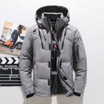 High Quality Thick Warm Winter Jacket Men Hooded Thicken Duck Down Parka Coat Casual Slim Down Mens Overcoat With Many Pockets - QucikShopee