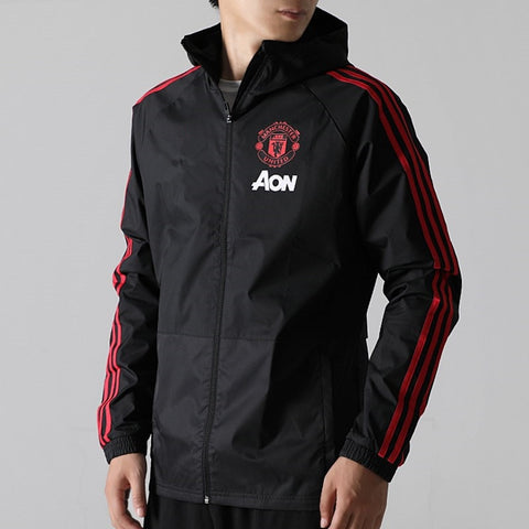 Manchester United Football Sports Uniform MEN'S Sports Jacket Cw7636 - QucikShopee