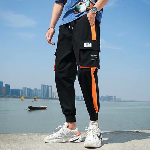 New Men's Pants sweatpants cargo pants - QucikShopee