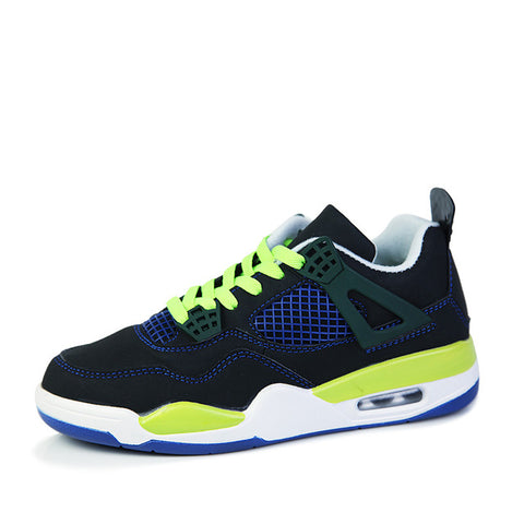 Man High-top Jordan Basketball Shoes Men's Cushioning Light Basketball Sneakers Anti-skid Breathable Outdoor Sports Jordan Shoes - QucikShopee
