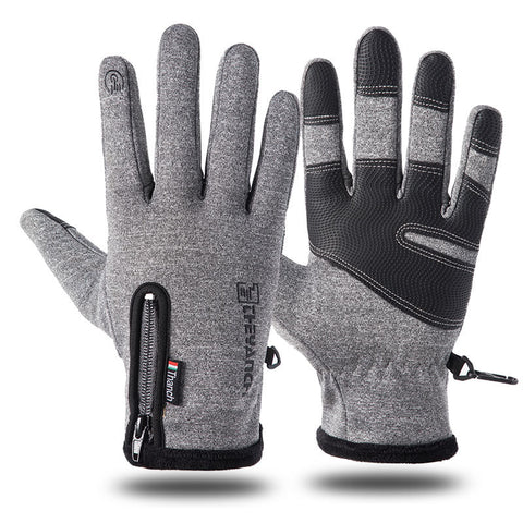 Cold & Waterproof Winter Gloves - Touchscreen