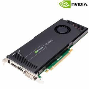 nVidia Quadro 4000 2GB GDDR5 PCI-E X16 Video Card, Used (1* DVI-I & 2xDisplayPort) - Atlas Computers & Electronics