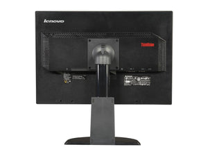 Lenovo 22-Inch Screen LED-Lit Monitor, Black Refurbished - Atlas Computers & Electronics