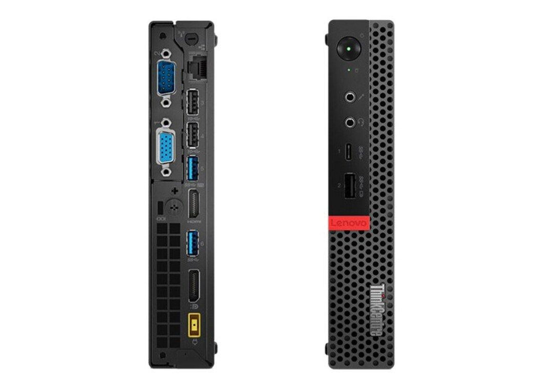 Lenovo ThinkCentre M920x - tiny - Core i7 8700 3.2 GHz - 16 GB - SSD 512 GB - Blk - Refurbished - Atlas Computers & Electronics
