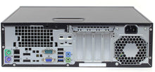 Load image into Gallery viewer, HP EliteDesk 800 G1 SFF Intel i5-4570 3.2GHz/8GB/500GB/DVDRW/Wi-fi Refurbished - Atlas Computers & Electronics
