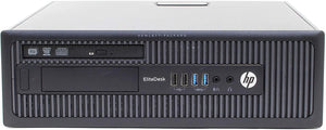 HP EliteDesk 800 G1 SFF Intel i5-4570 3.2GHz/8GB/500GB/DVDRW/Wi-fi Refurbished - Atlas Computers & Electronics