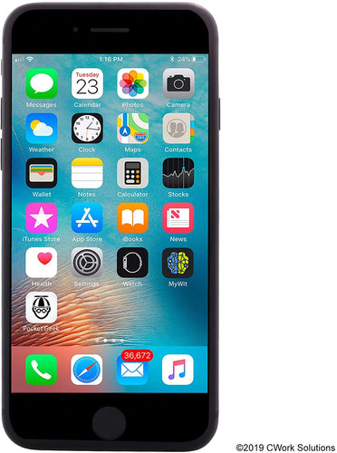 APPLE IPHONE 8 64GB UNLOCKED SMARTPHONE-BLK  Refurbished with Charger - Atlas Computers & Electronics