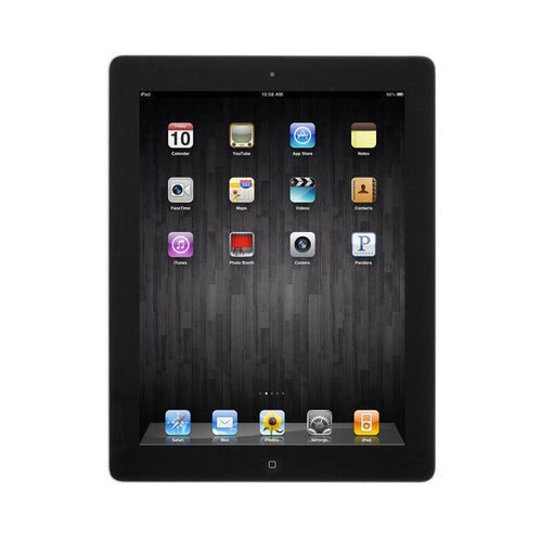 Apple iPad 4 16GB 9.7in Retina Display WiFi Bluetooth & Camera - Black - 4th Gen (Renewed) - Atlas Computers & Electronics