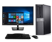 Load image into Gallery viewer, Dell Optiplex 9010 Desktop + 22 Inch Dell Monitor~Windows 10 64 Bit ~ Keyboard~Mouse~WiFi Refurbished - Atlas Computers & Electronics
