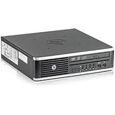 HP Compaq Elite 8300 Ultra Slim System - 8GB - 500GB HDD - Intel i5 Processor - Win 10 Pro - BLK - REFURBISHED - Atlas Computers & Electronics