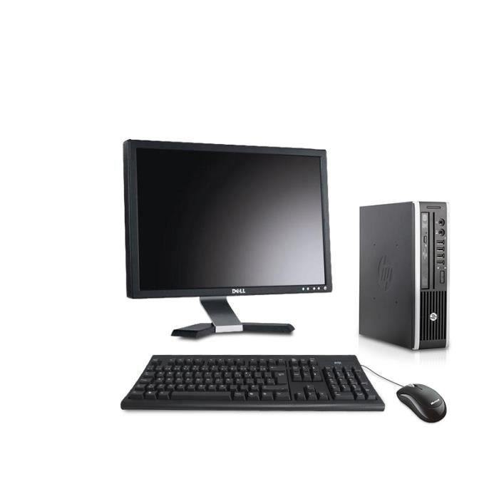 HP Compaq Elite 8300 Ultra Slim Desktop- 8GB - 256GB SSD - Intel i5 Processor - Win 10 Pro - WiFi - 22