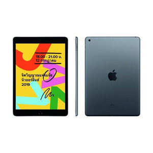 Apple iPad (10.2-Inch, Wi-Fi + Cellular, 32GB) - Space Gray (7th generation) (Renewed) - Atlas Computers & Electronics