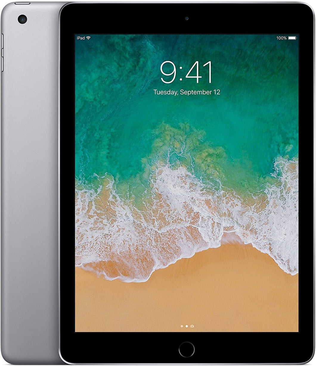 Apple iPad 5th Generation | 9.7in 128GB Space Gray Wi-Fi +4G Unlocked - Renewed - Atlas Computers & Electronics
