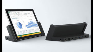 Microsoft Surface Pro Docking Station 1664 - BLK - REFURBISHED - Atlas Computers & Electronics