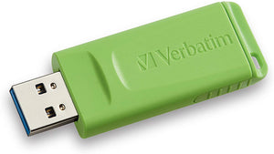 Verbatim 8GB Store 'n' Go USB Flash Drive - PC/Mac Compatible - 3pk - Red, Green, Blue - Atlas Computers & Electronics