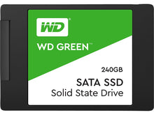 "Load image into Gallery viewer, WD Green 240GB Internal PC SSD - SATA III 6 Gb/s, 2.5""/7mm - WDS240G2G0A - Atlas Computers & Electronics"