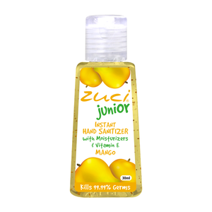 Zuci Junior Instant Hand Sanitizer (Mango - 30 ml) - 144 units