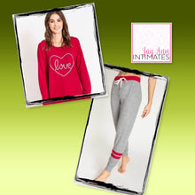 Load image into Gallery viewer, Love Heart PJ Salvage Set
