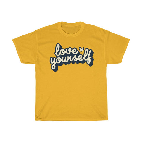 "T-shirt imprimé original homme Insane Society ""Love yourself"""