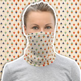 Accessoire multifonction bandana snood masque losanges Insane Society