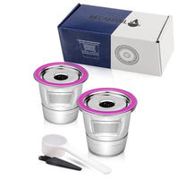 Stainless Steel Reusable K Cup  Coffee Filter  Accessories for Keurig K mini Plus,K-Cafe,K-cafe K83,K-Latte,K45 Elite,K-Classic,