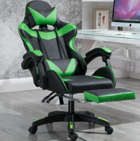 Computer Chair High Back Gaming Chairs of Professional Racing Style Comfortable Gamer Chair with Footrest and Headrest