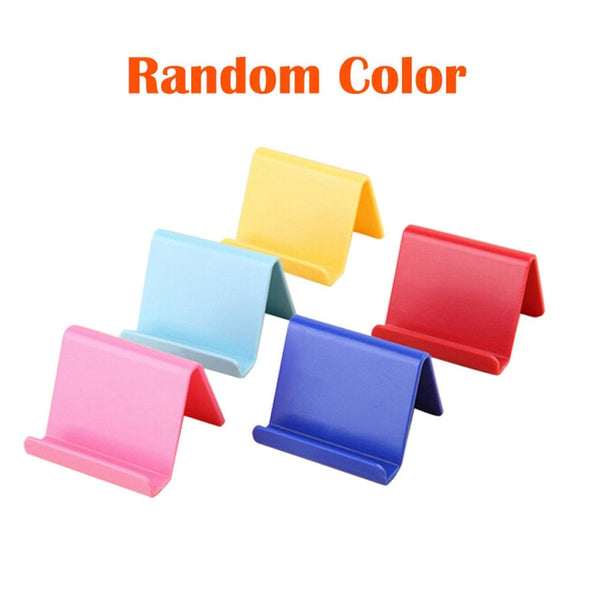 6*4.5cm Universal Candy Mobile Phone Holder For Xiaomi Portable Mini Stand Holder Mobile Phone Accessories