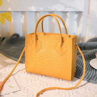2020 Fashion Trend Women Crocodile Pattern Crossbody Handbags Vintage Classic Solid Style Shoulder Bag Stylish Tote for Ladies