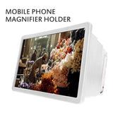 Portable Mobile Phone Screen Magnifier 3D Enlarger Magnifying Video Amplifier Projector Bracket  HD Video Amplifier For Phone