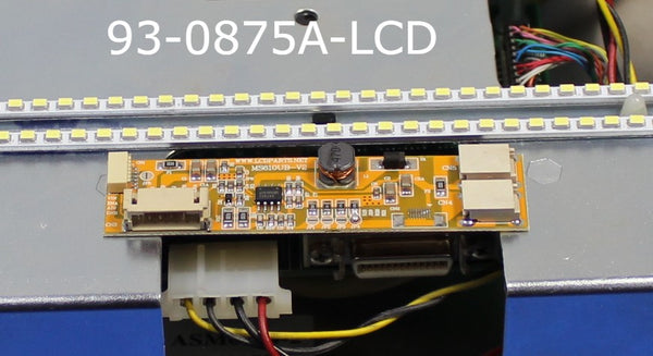 93-0875A-LCD, A direct replacement LCD for Haas 93-0875A