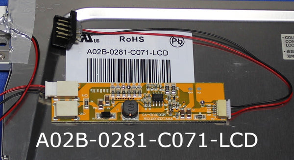 A02B-0281-C071-LCD, A direct replacement fro Fanuc A02B-0281-C071