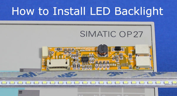 Siemens Simatic OP27 OP27_6AV3627-1LK00-1AX0_ON