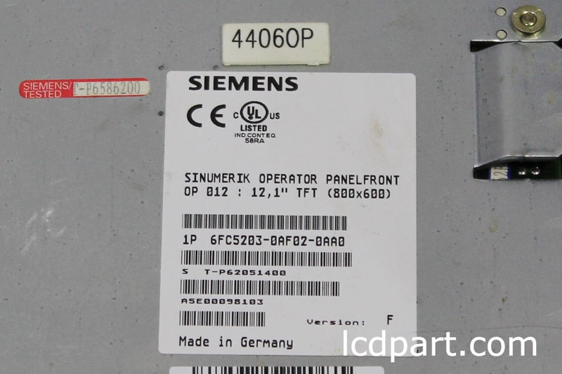 Siemens 6FC5203-0AF02-0AA0, Upgraded to Sunlgith Readable LED Backlight