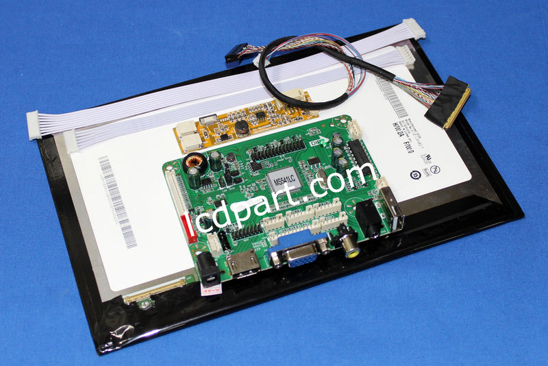 10.1 inch sunlight readable LCD kit, P/N: MS101WLCDKIT500, 500 nits