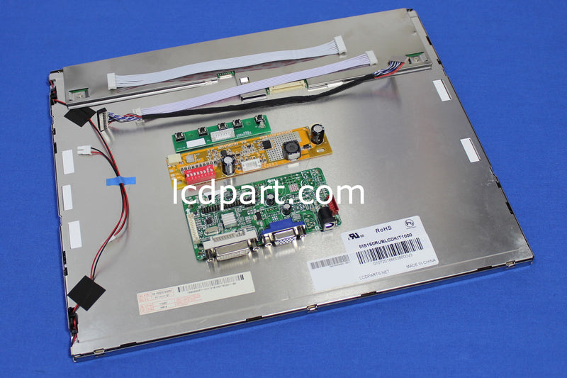 15 inch sunlight readable LCD kit, P/N: MS150RUBLCDKIT1000, 1000 nits