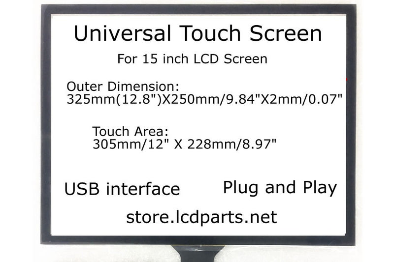 15 inch Universal Touch Screen, MS150Utouch