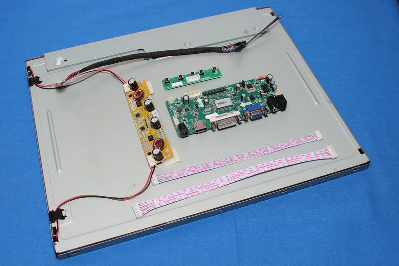 19 inch sunlight readable LCD kit, P/N: MS190RUBLCDKIT1200, 1200 nits