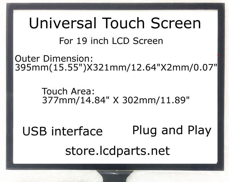19 inch Universal Touch Screen, MS190UTOUCH