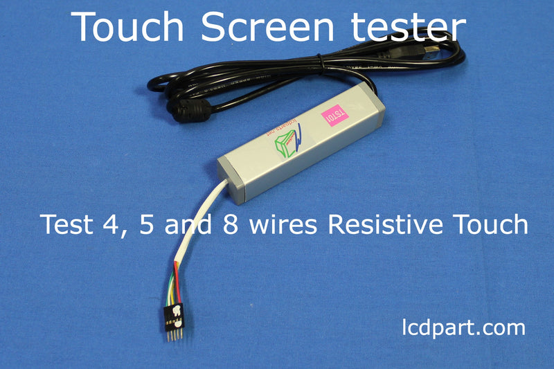 TST01, Touch Screen Tester